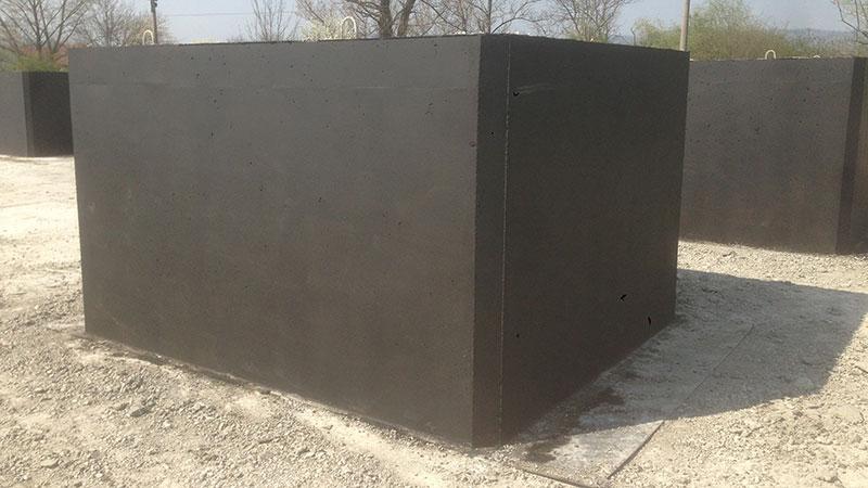 Jednokomorová betonová žumpa